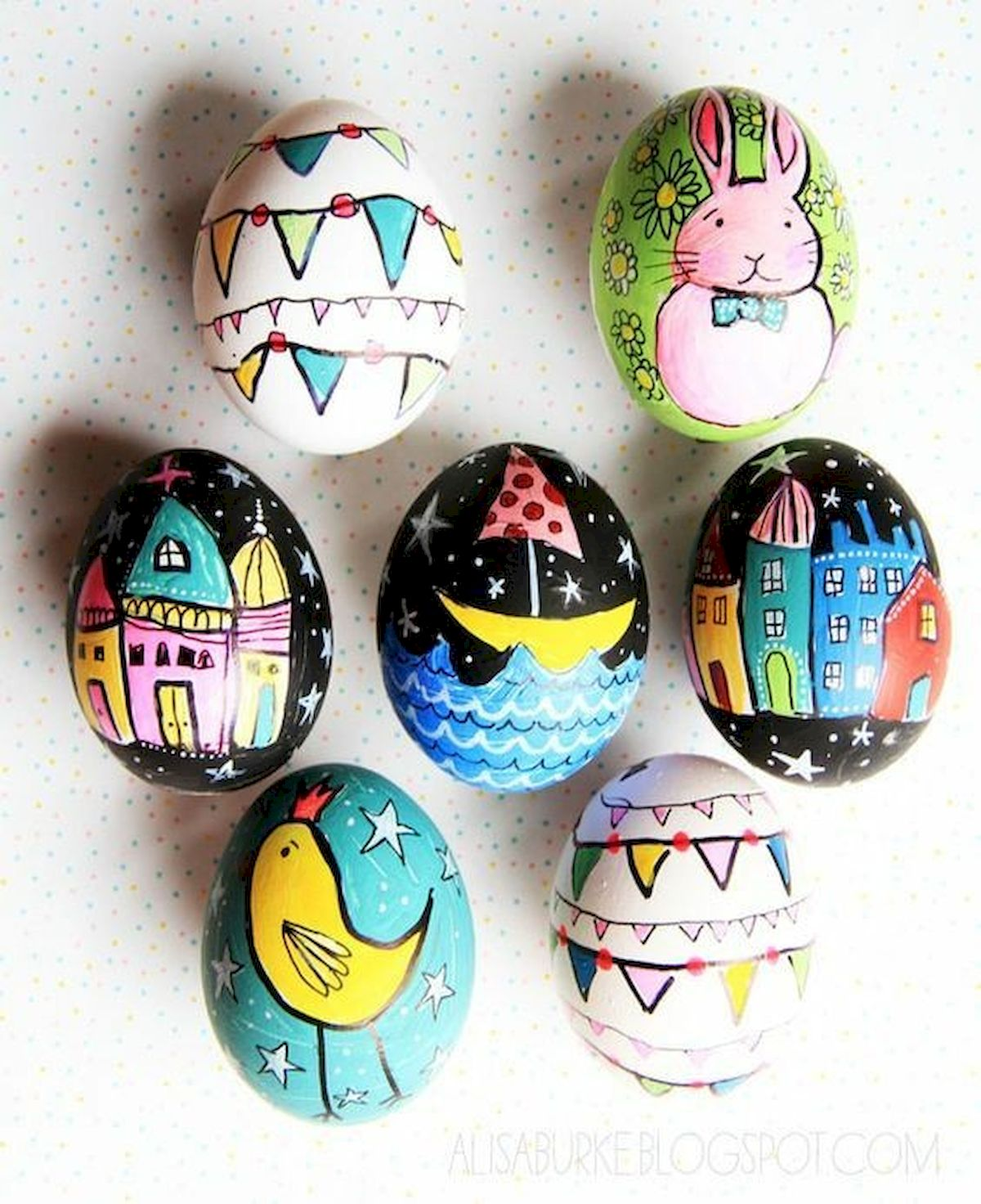 90 Awesome DIY Easter Eggs Ideas (43)