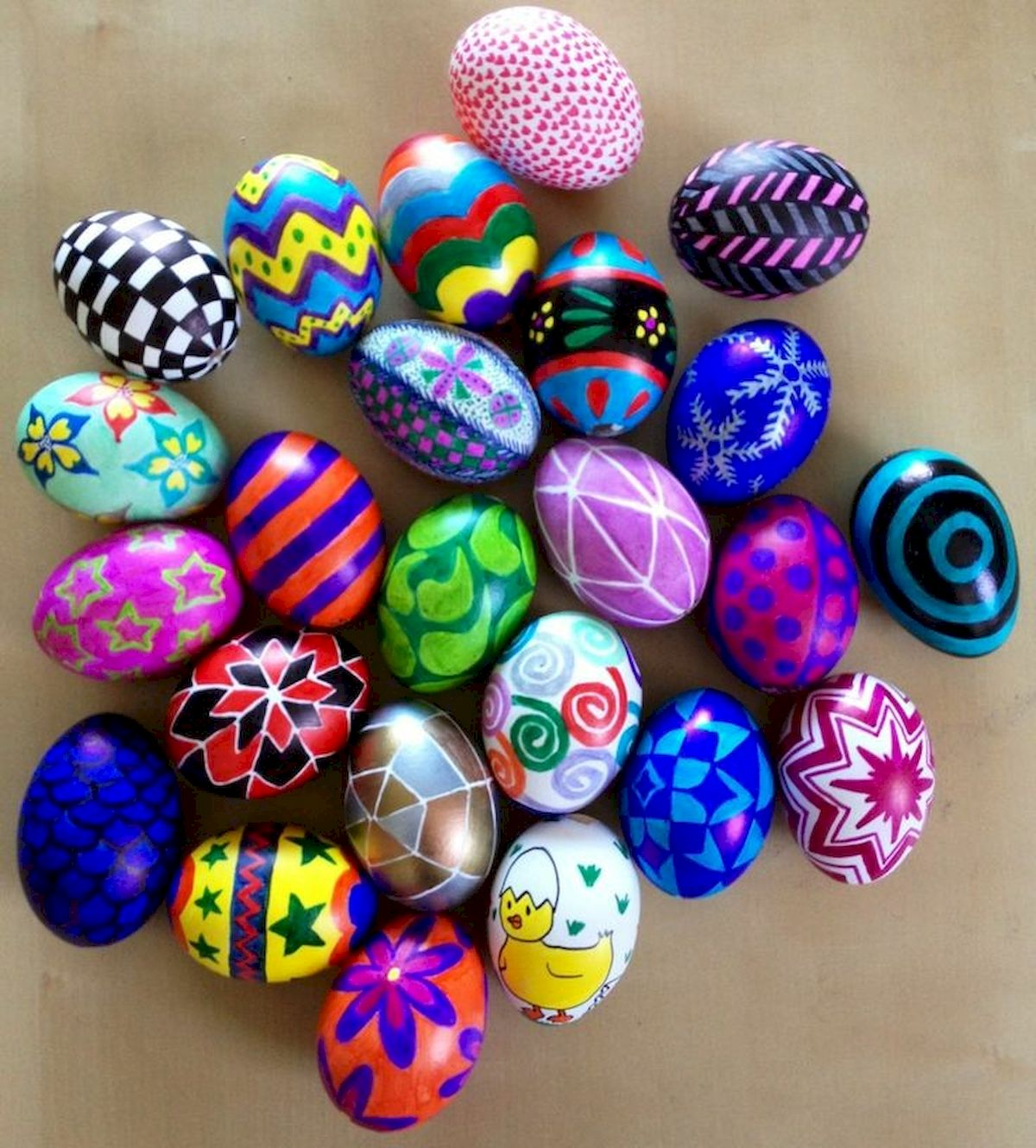 90 Awesome DIY Easter Eggs Ideas (47)