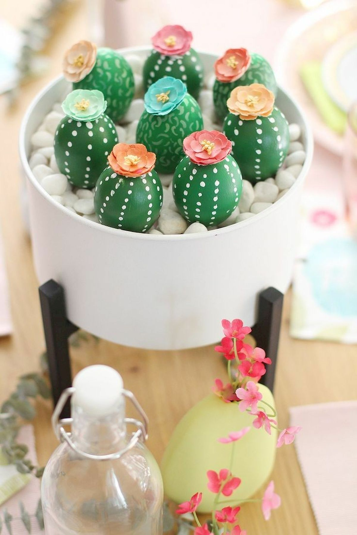 90 Awesome DIY Easter Eggs Ideas (49)