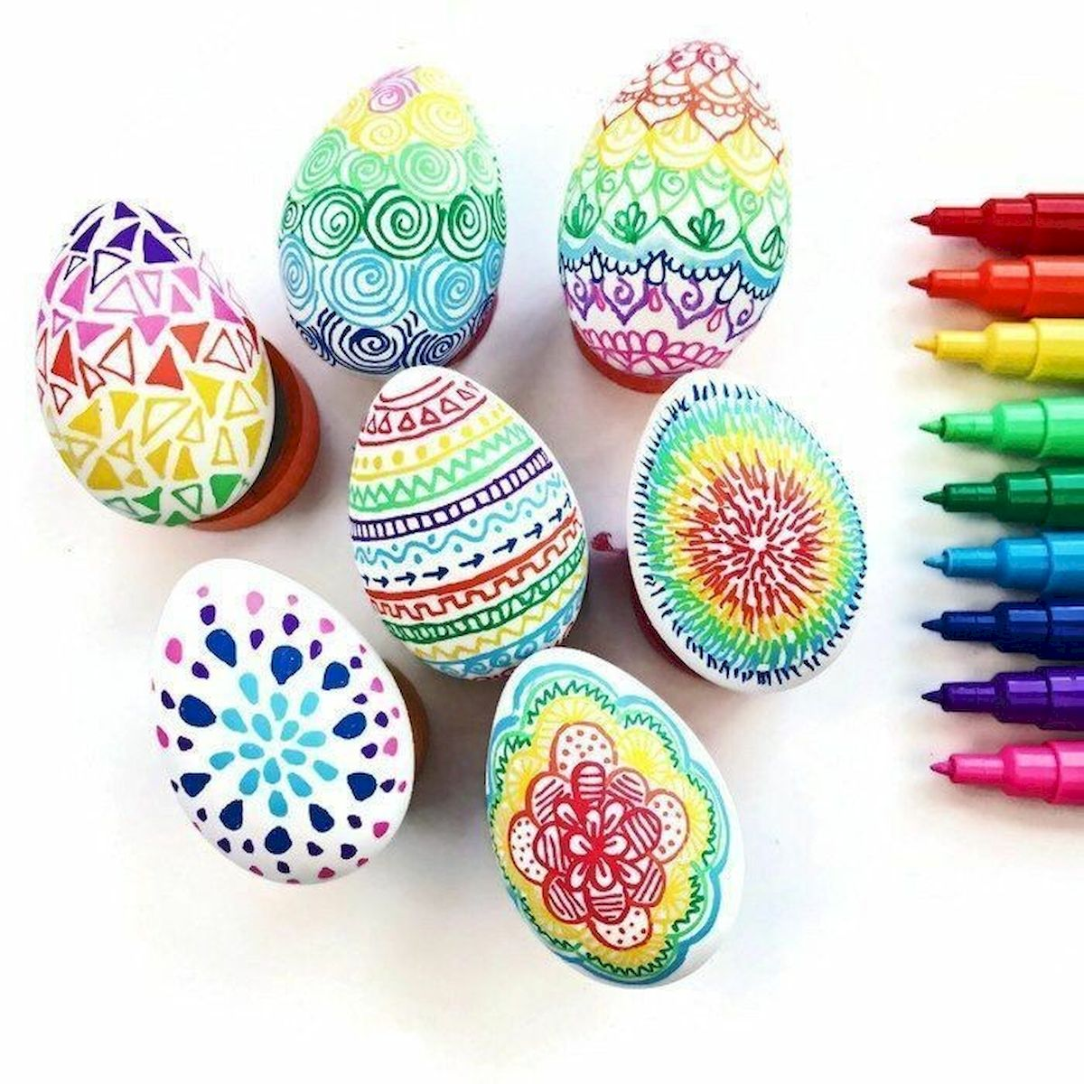 90 Awesome DIY Easter Eggs Ideas (59)