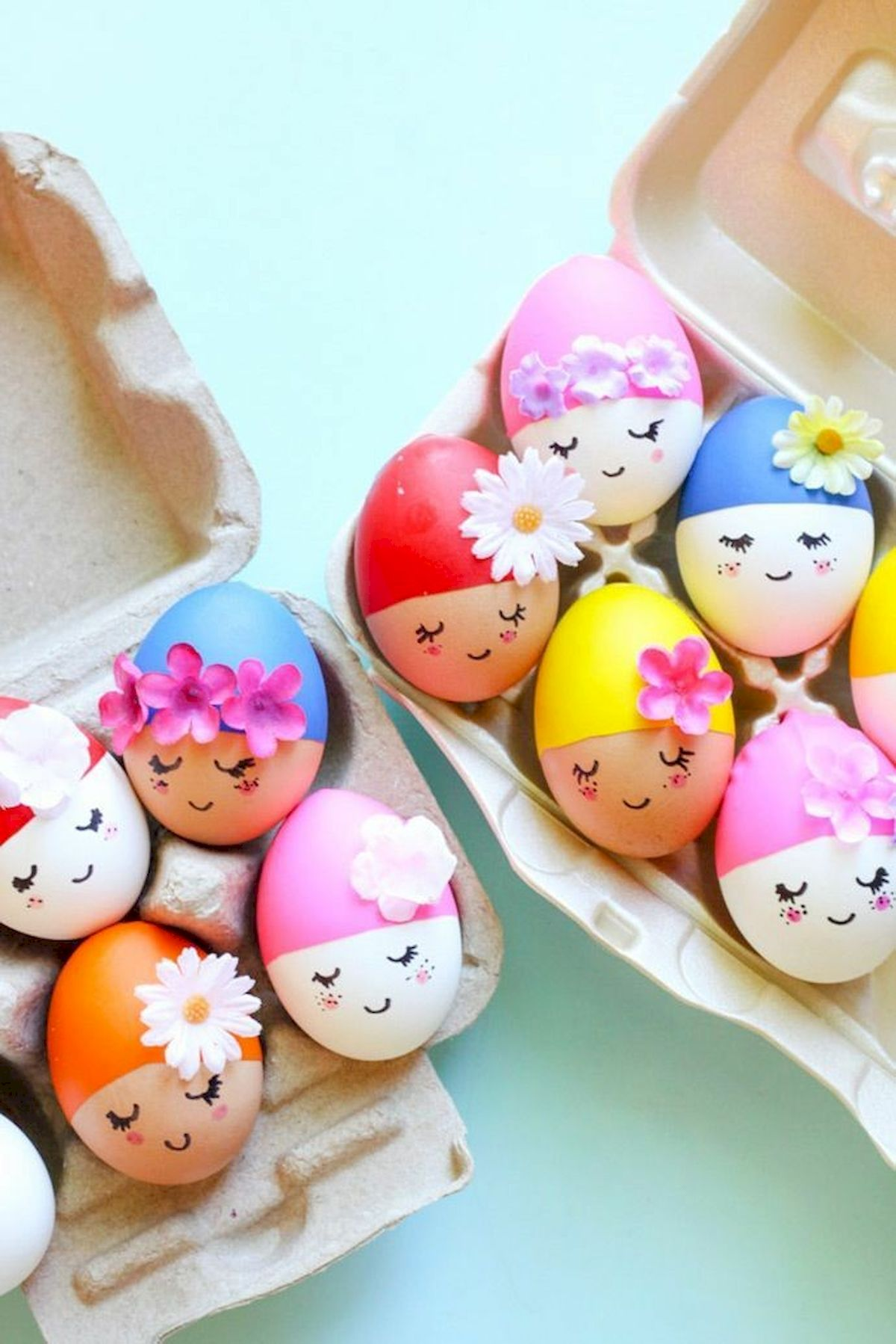 90 Awesome DIY Easter Eggs Ideas (60)