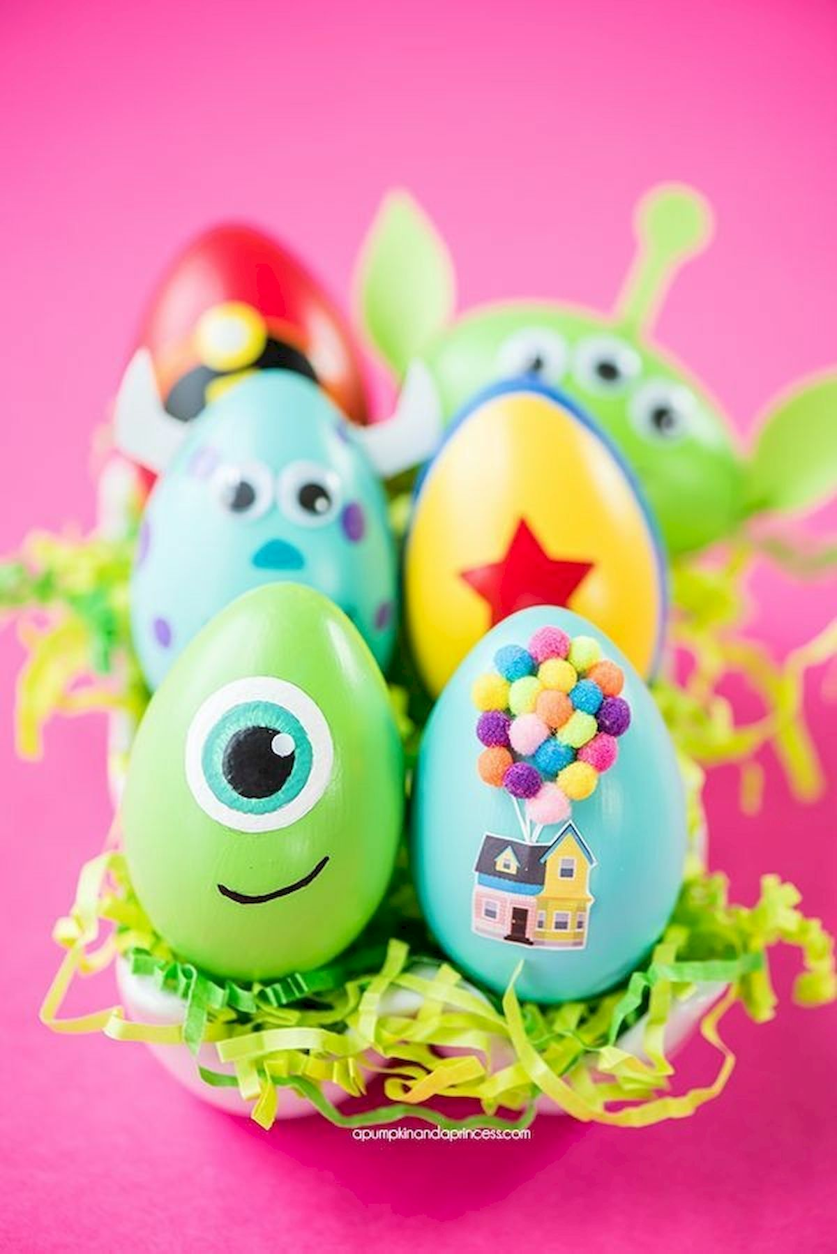 90 Awesome DIY Easter Eggs Ideas (72)
