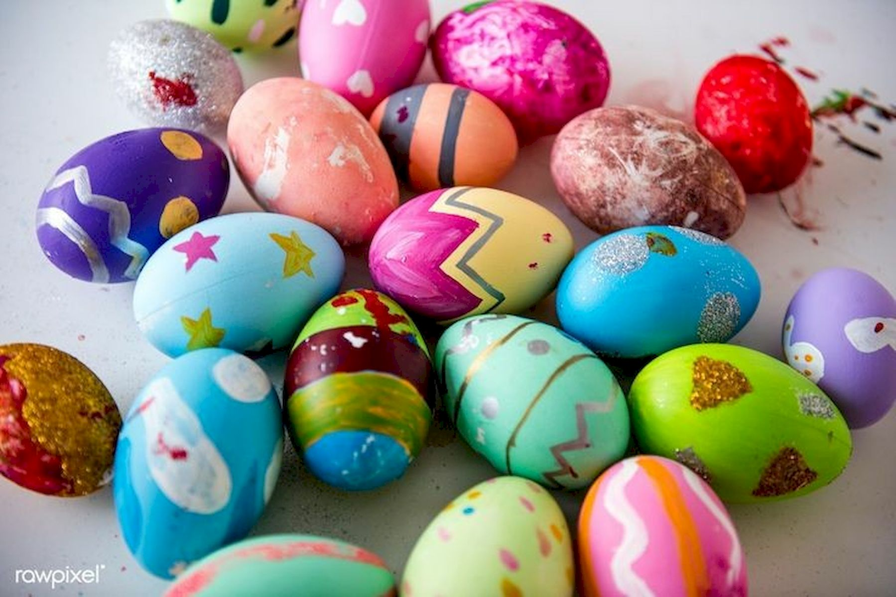 90 Awesome DIY Easter Eggs Ideas (77)