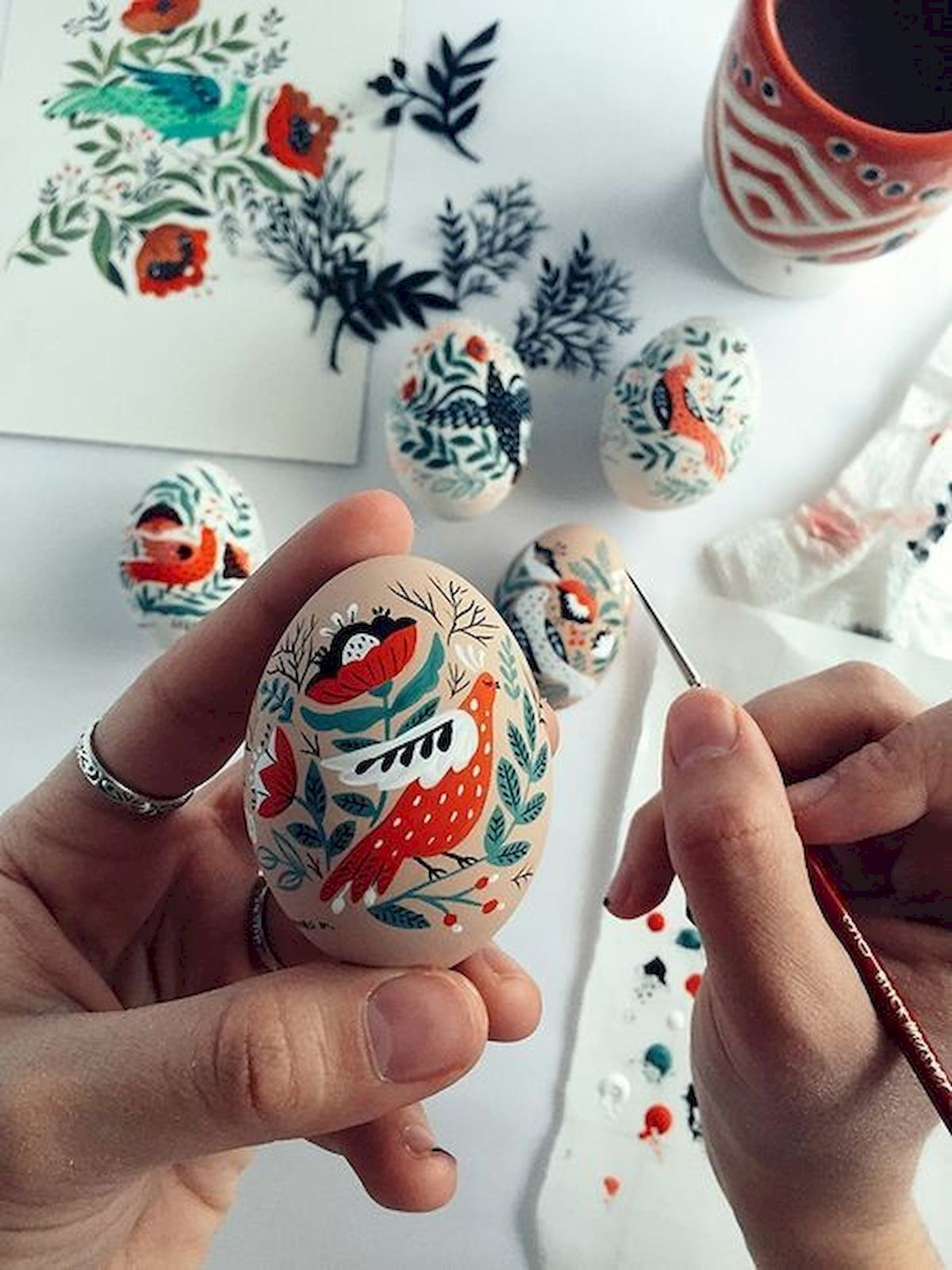 90 Awesome DIY Easter Eggs Ideas (81)
