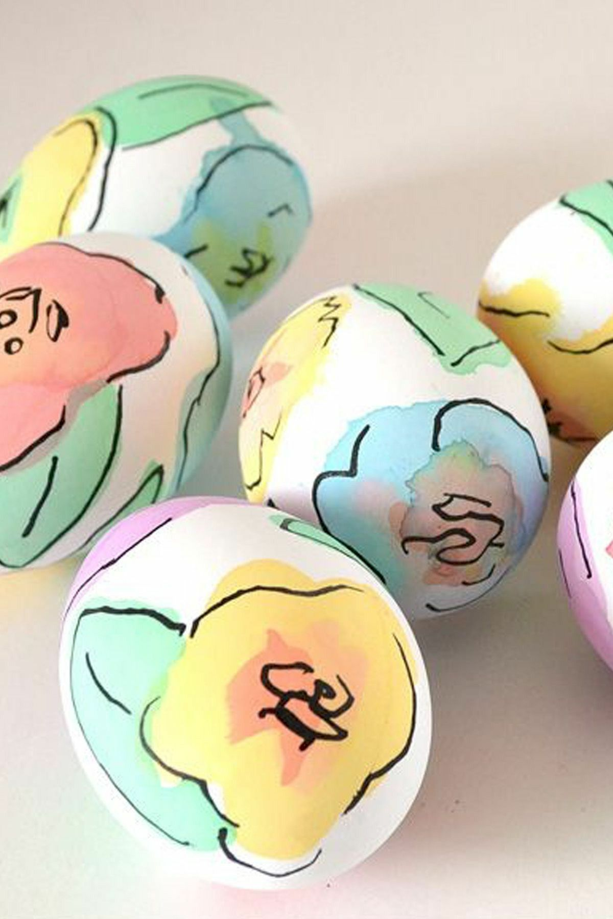 90 Awesome DIY Easter Eggs Ideas (88)