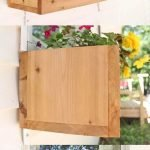 30 Awesome DIY Flowers Boxes Ideas (1)