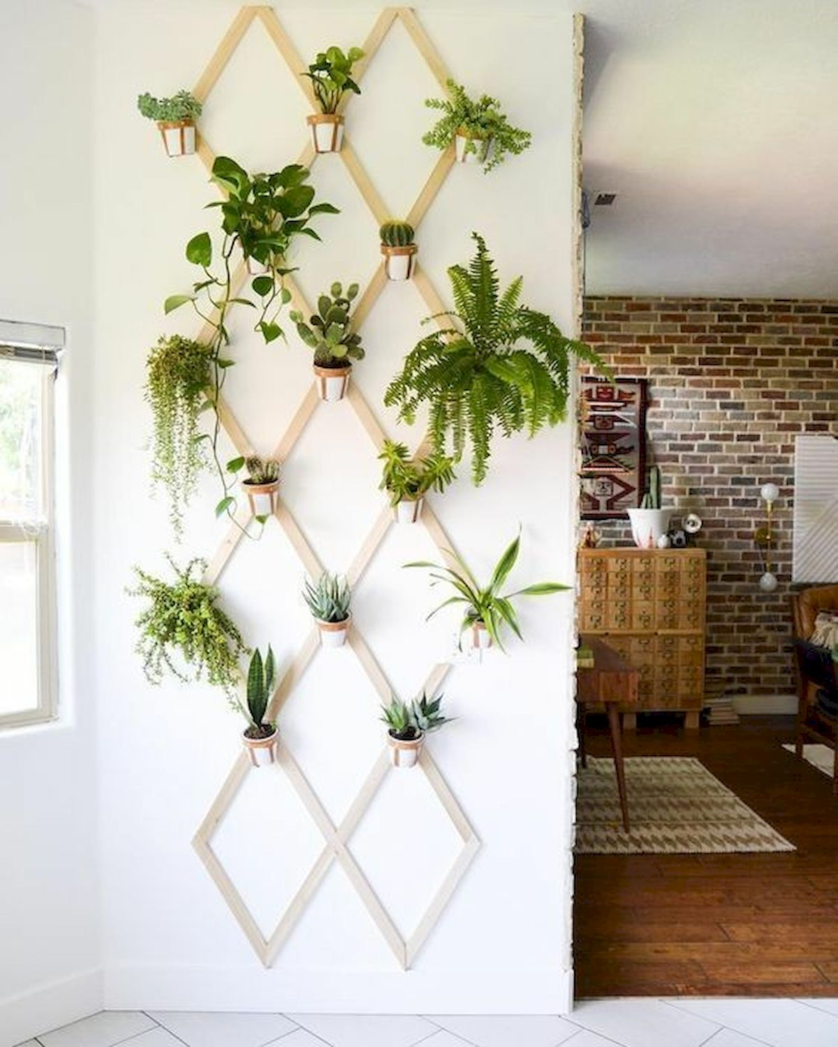 33 Awesome DIY Crafts Ideas for Interior Home Wall (15)