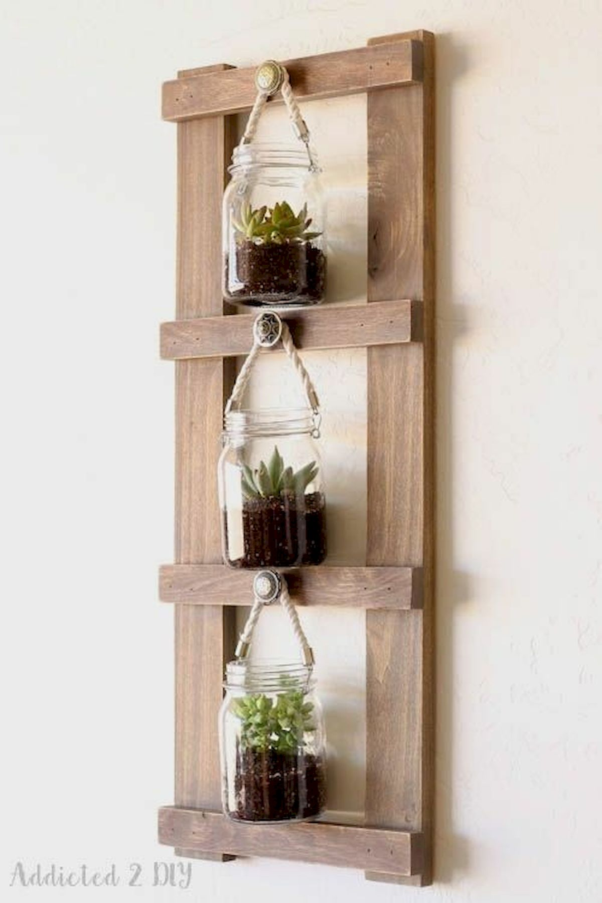33 Awesome DIY Crafts Ideas for Interior Home Wall (19)