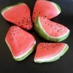 40 Awesome DIY Painted Rocks Fruits Ideas (1)