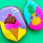 40 Awesome DIY Painted Rocks Fruits Ideas (16)