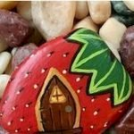 40 Awesome DIY Painted Rocks Fruits Ideas (19)