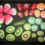 40 Awesome DIY Painted Rocks Fruits Ideas (25)