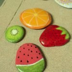 40 Awesome DIY Painted Rocks Fruits Ideas (7)