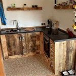 50 Amazing DIY Pallet Kitchen Cabinets Design Ideas (17)