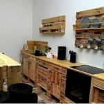 50 Amazing DIY Pallet Kitchen Cabinets Design Ideas (25)