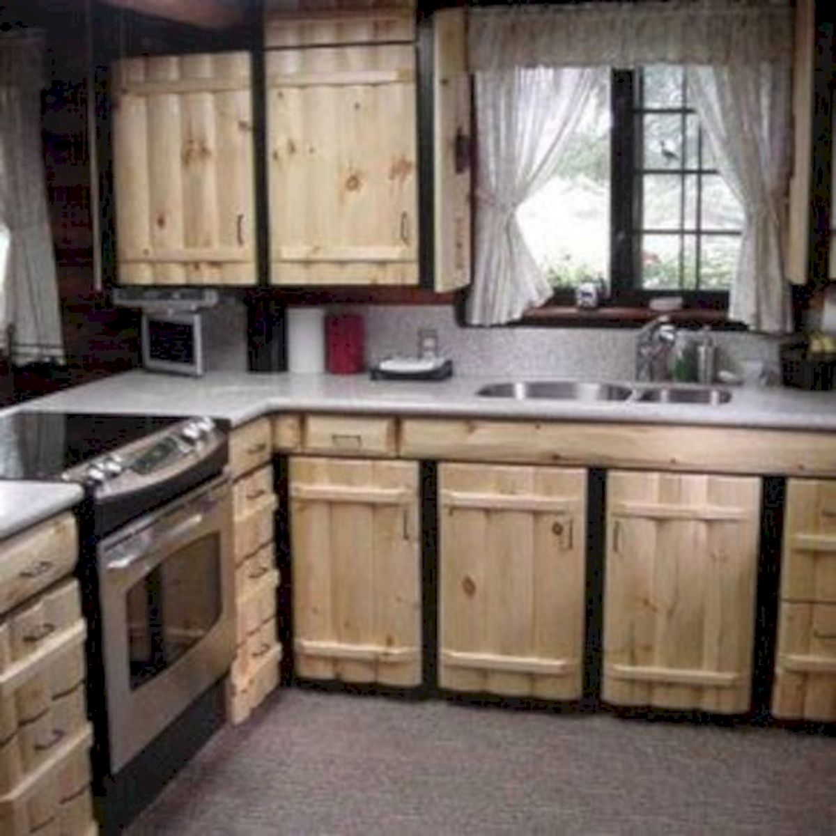 50 Amazing DIY Pallet Kitchen Cabinets Design Ideas (31 ...