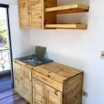 50 Amazing DIY Pallet Kitchen Cabinets Design Ideas (36)