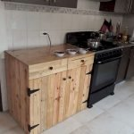 50 Amazing DIY Pallet Kitchen Cabinets Design Ideas (4)
