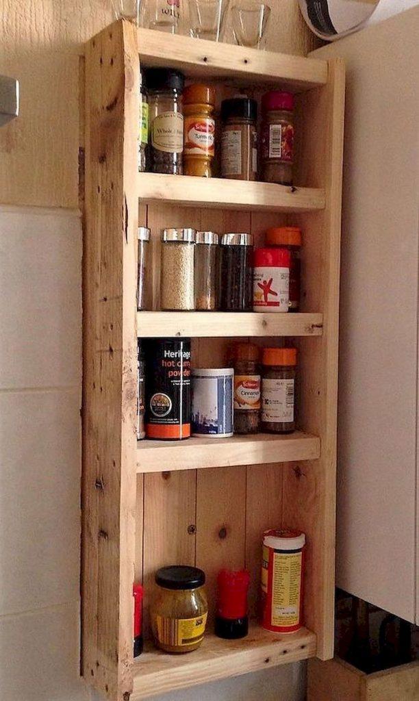 50 Amazing DIY Pallet Kitchen Cabinets Design Ideas (48 ...