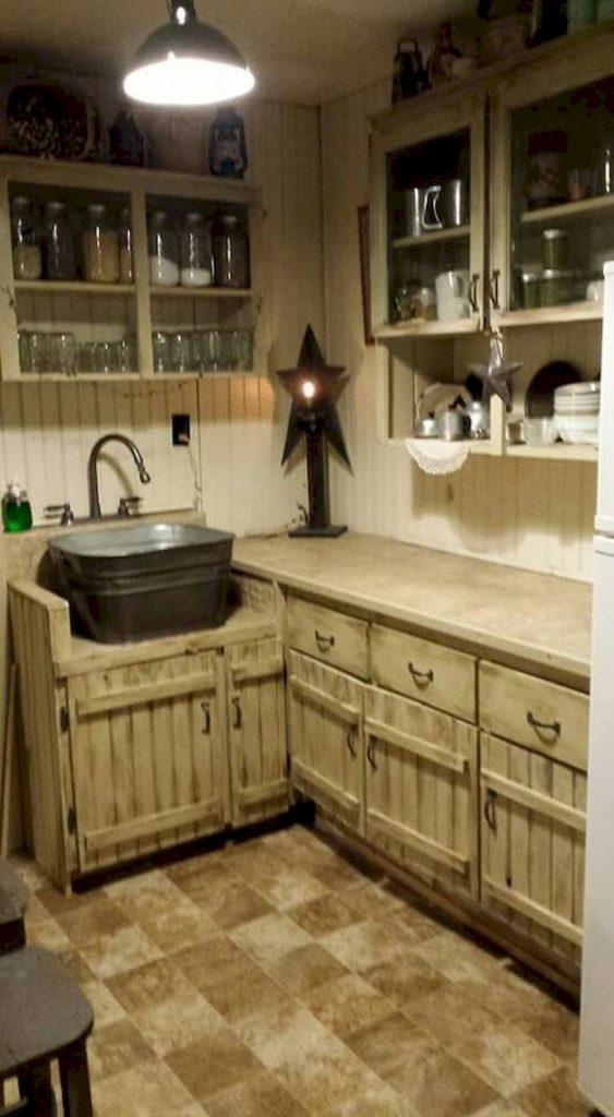 50 Amazing DIY Pallet Kitchen Cabinets Design Ideas (6 ...