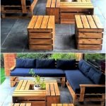 50 Amazing DIY Projects Outdoor Furniture Design Ideas (40)