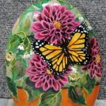 55 Cute DIY Painted Rocks Animals Butterfly Ideas (12)