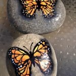 55 Cute DIY Painted Rocks Animals Butterfly Ideas (13)