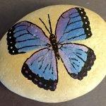 55 Cute DIY Painted Rocks Animals Butterfly Ideas (14)