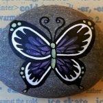 55 Cute DIY Painted Rocks Animals Butterfly Ideas (16)