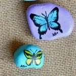 55 Cute DIY Painted Rocks Animals Butterfly Ideas (21)
