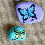 55 Cute DIY Painted Rocks Animals Butterfly Ideas (21)