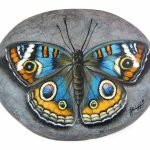 55 Cute DIY Painted Rocks Animals Butterfly Ideas (24)