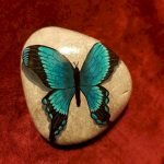 55 Cute DIY Painted Rocks Animals Butterfly Ideas (27)