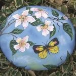 55 Cute DIY Painted Rocks Animals Butterfly Ideas (28)