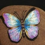 55 Cute DIY Painted Rocks Animals Butterfly Ideas (40)