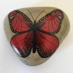 55 Cute DIY Painted Rocks Animals Butterfly Ideas (47)