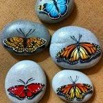 55 Cute DIY Painted Rocks Animals Butterfly Ideas (5)