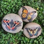 55 Cute DIY Painted Rocks Animals Butterfly Ideas (6)