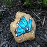 55 Cute DIY Painted Rocks Animals Butterfly Ideas (8)