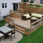 60 Awesome DIY Backyard Privacy Design and Decor Ideas (55)