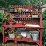 60 Awesome DIY Pallet Garden Bench and Storage Design Ideas (11)