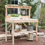 60 Awesome DIY Pallet Garden Bench and Storage Design Ideas (16)