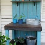 60 Awesome DIY Pallet Garden Bench and Storage Design Ideas (17)