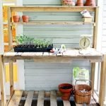 60 Awesome DIY Pallet Garden Bench and Storage Design Ideas (2)