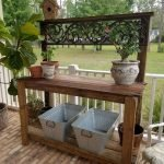 60 Awesome DIY Pallet Garden Bench and Storage Design Ideas (21)