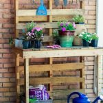 60 Awesome DIY Pallet Garden Bench and Storage Design Ideas (23)