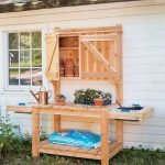 60 Awesome DIY Pallet Garden Bench and Storage Design Ideas (4)