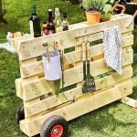 60 Awesome DIY Pallet Garden Bench and Storage Design Ideas (44)