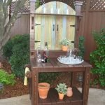 60 Awesome DIY Pallet Garden Bench and Storage Design Ideas (46)