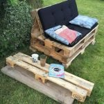 60 Awesome DIY Pallet Garden Bench and Storage Design Ideas (5)